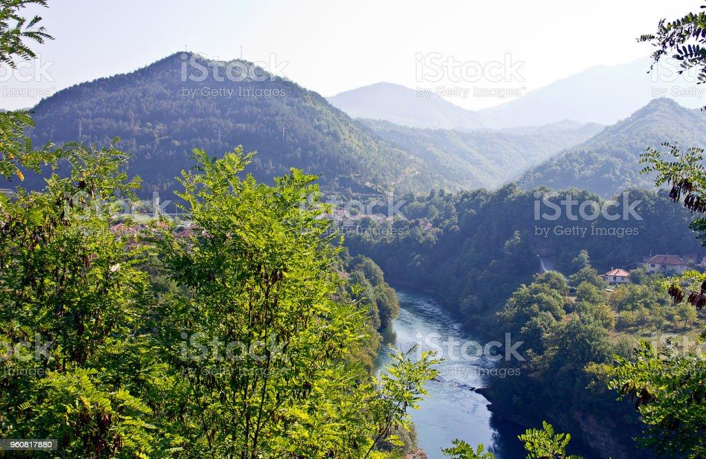 Bosnia view stock photo