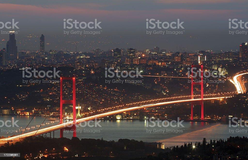 Bosphorus Bridge - 3 royalty-free stock photo