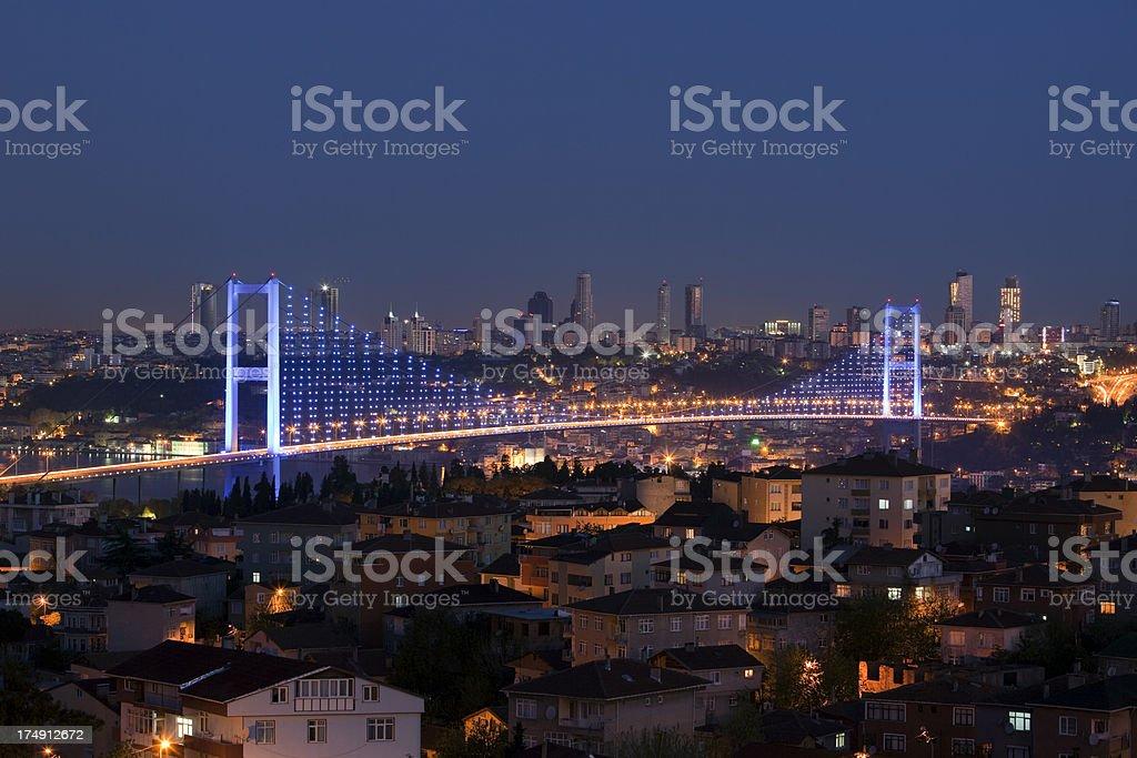 Bosporus-Brücke, Istanbul, Türkei – Foto