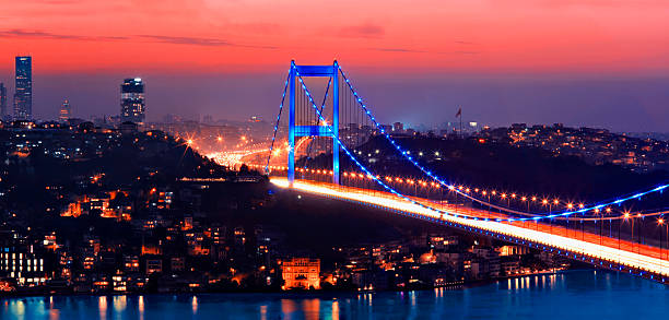 Bosphorus Bridge Bosphorus Bridge bosphorus stock pictures, royalty-free photos & images