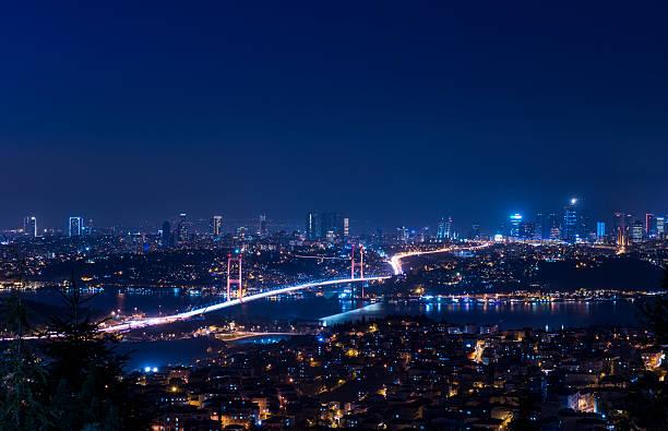 Bosphorus Bridge stok fotoğrafı