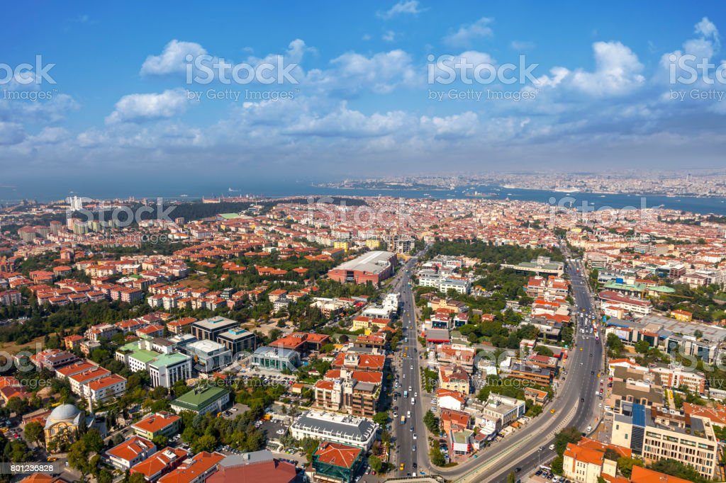 Bosphorus in İstanbul stock photo