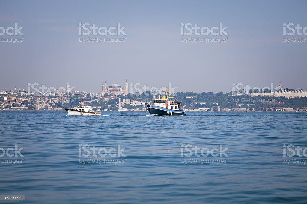 Bosphorus royalty-free stock photo