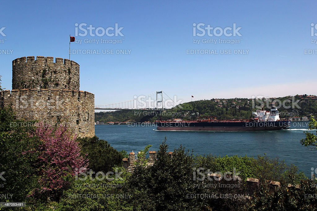 Bosphorus royalty-free stock photo