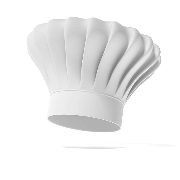 Chef hat Chef hat isolated on a white background chef's hat stock pictures, royalty-free photos & images