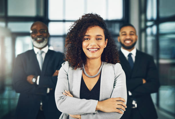 Boss - more than a position, it's an example stock photo