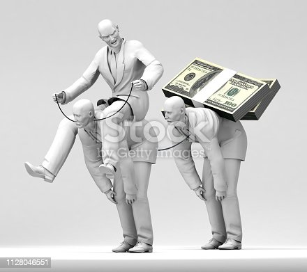 istock Boss of Money Slaves 1128046551