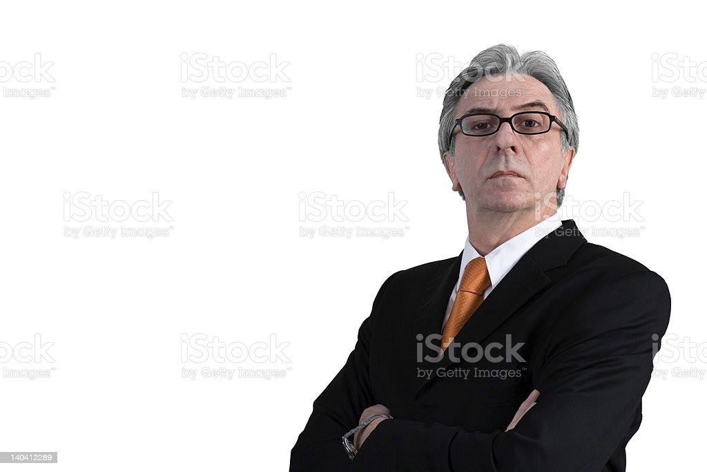 Boss royalty-free stock photo