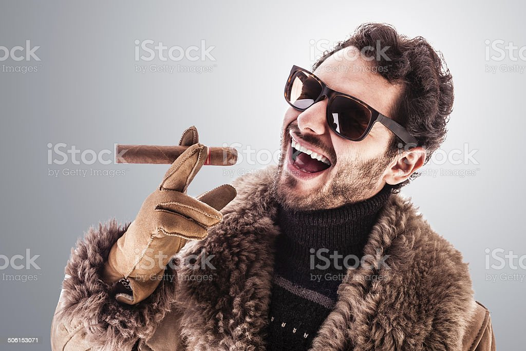 Boss stock photo