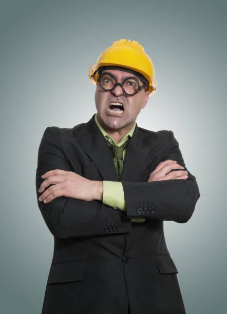 construcción boss portrait - studioimagen73 fotografías e imágenes de stock
