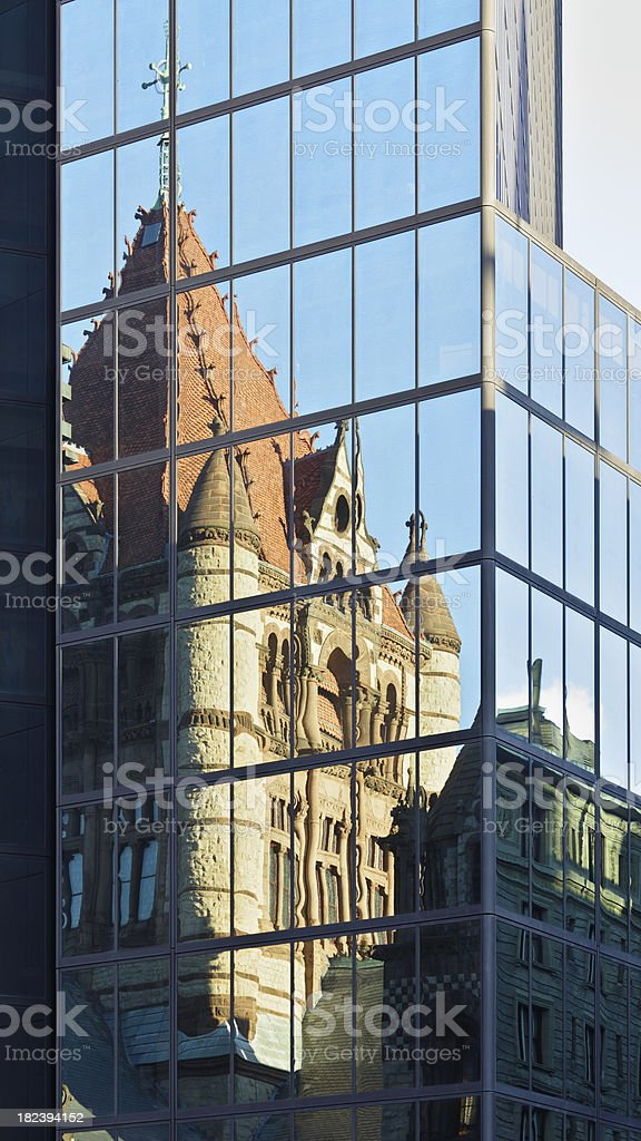 Boston Architecture royalty-free stock photo