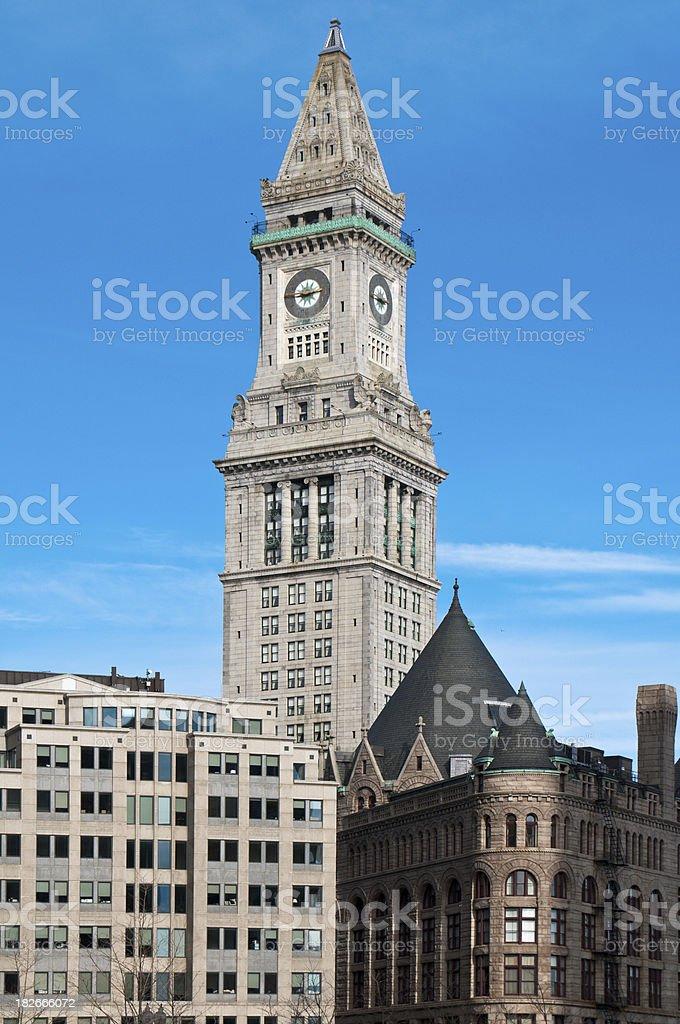Boston Architecture royalty-free stock photo