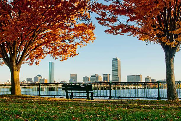 Boston Autumn stock photo