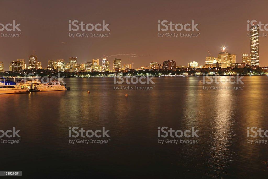 Boston: Back Bay royalty-free stock photo