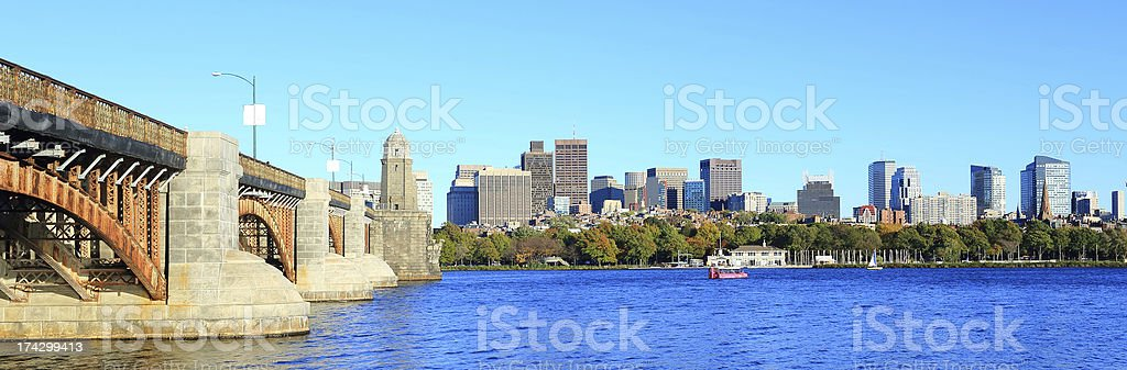 Boston: Back Bay stock photo