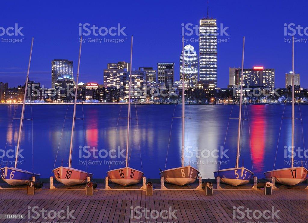 Boston Buildings stock photo