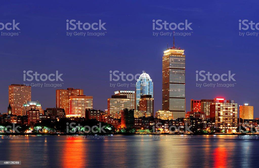 Boston Charles River royalty-free stock photo