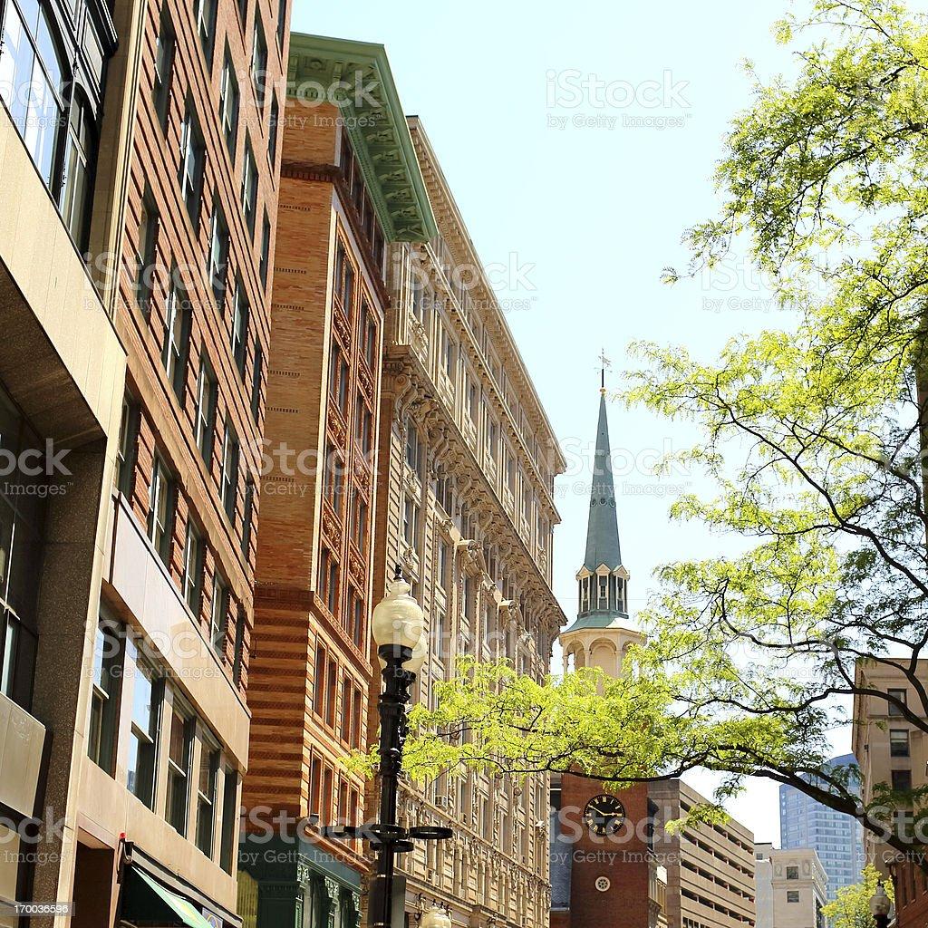 Boston: Downtown stock photo