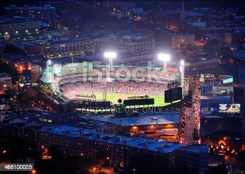 istock Boston Fenway Park at night 458100025