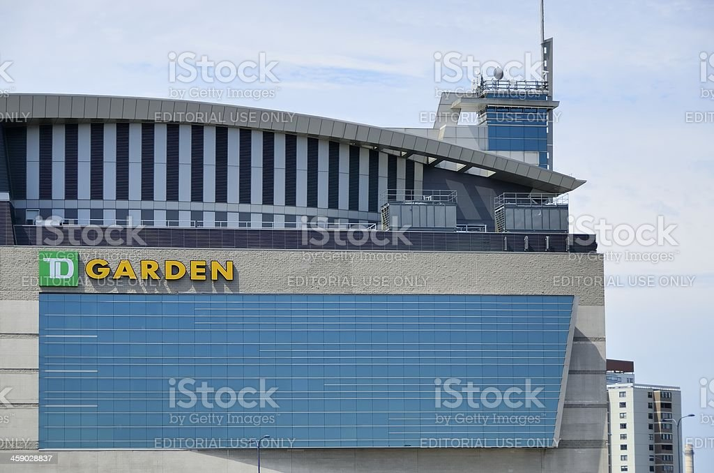 Boston Garden royalty-free stock photo