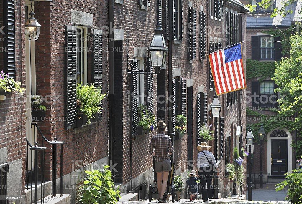 Boston Hill stock photo
