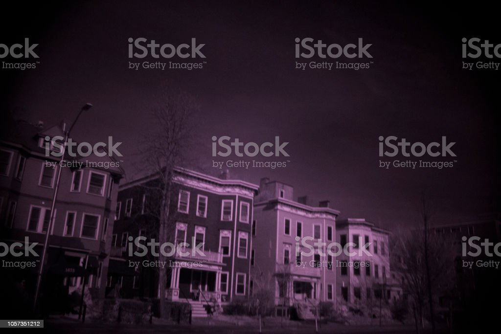 Boston, infrared filter, landscape, stock photo