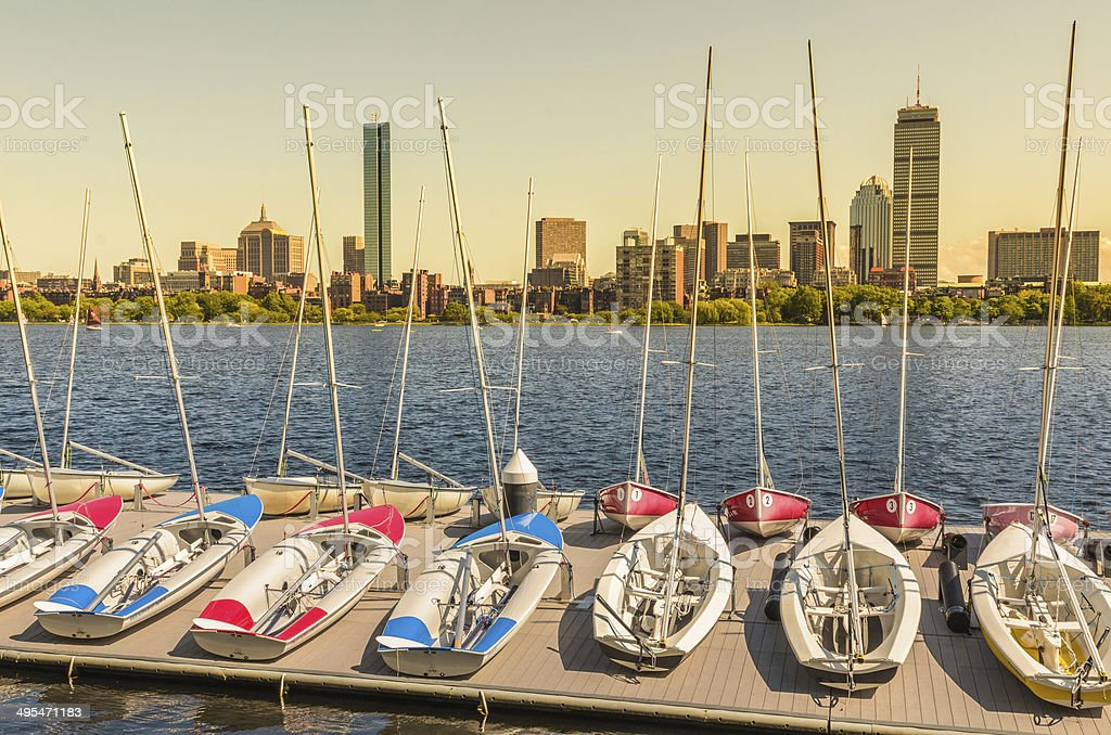 Boston, MA royalty-free stock photo