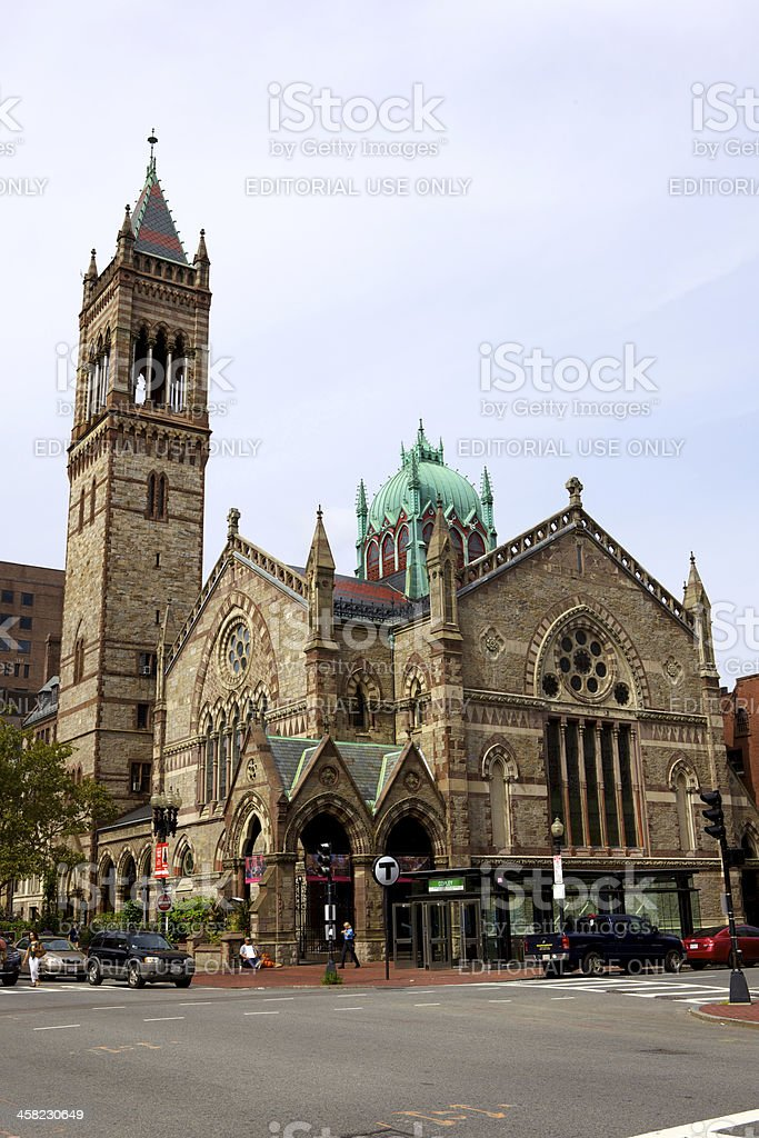 Boston MA, USA - Old South Church royalty-free stock photo