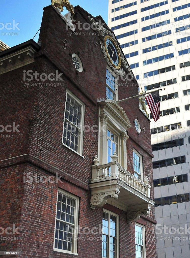 Boston, Massachusetts: Old State House royalty-free stock photo