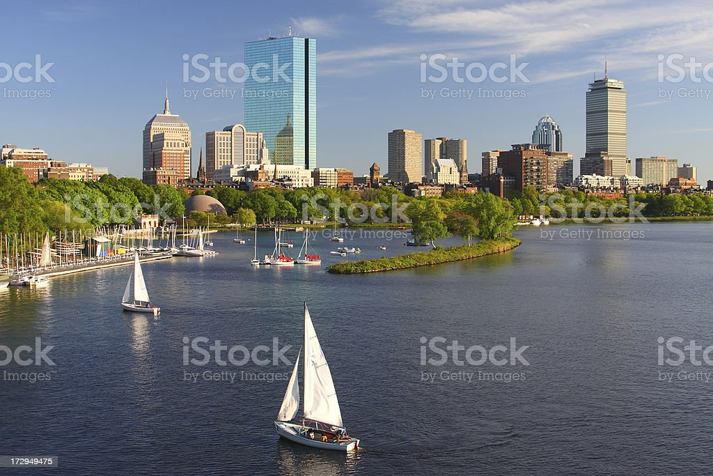 Boston Massachusetts stock photo