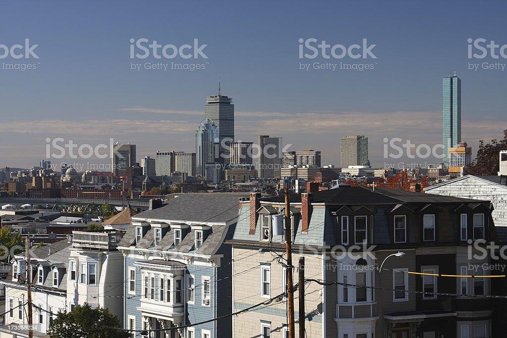 Boston, Massachusetts stock photo