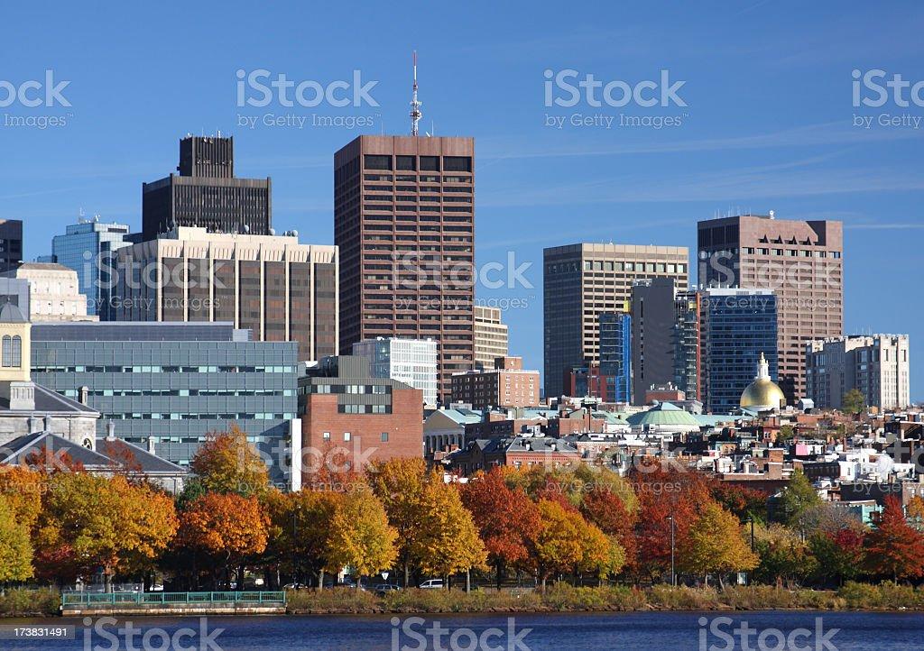 Boston, Massachusetts royalty-free stock photo