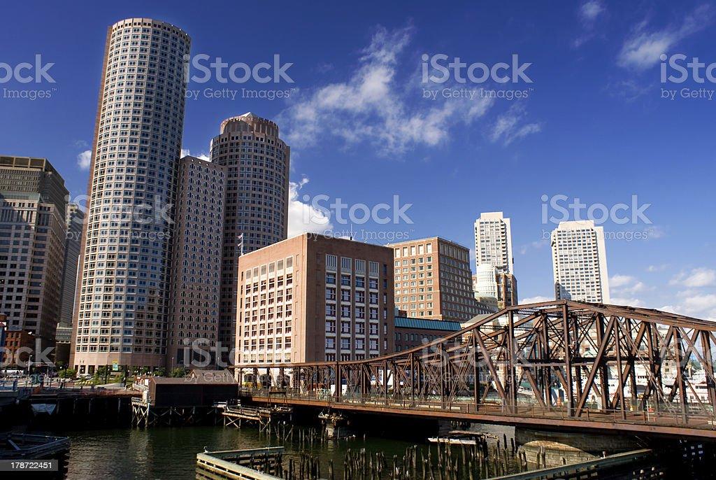Boston Massachusetts stock photo