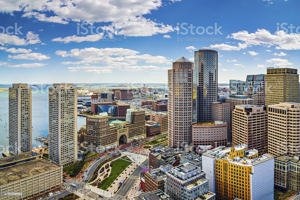 Boston, Massachusetts - foto de acervo