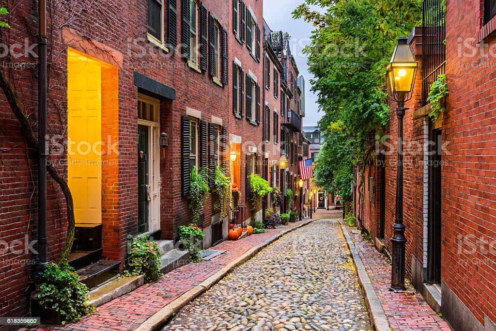 Boston, Massachusetts, USA royalty-free stock photo