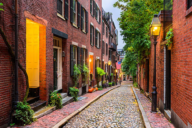 Boston, Massachusetts, USA stock photo