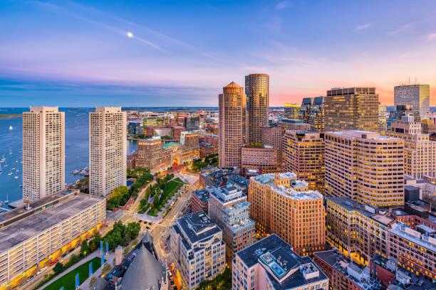 boston, massachusetts, verenigde staten - boston massachusetts stockfoto's en -beelden