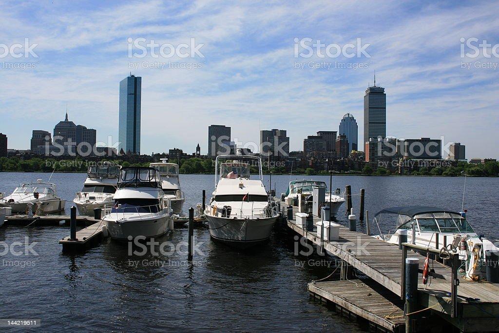 Boston royalty-free stock photo