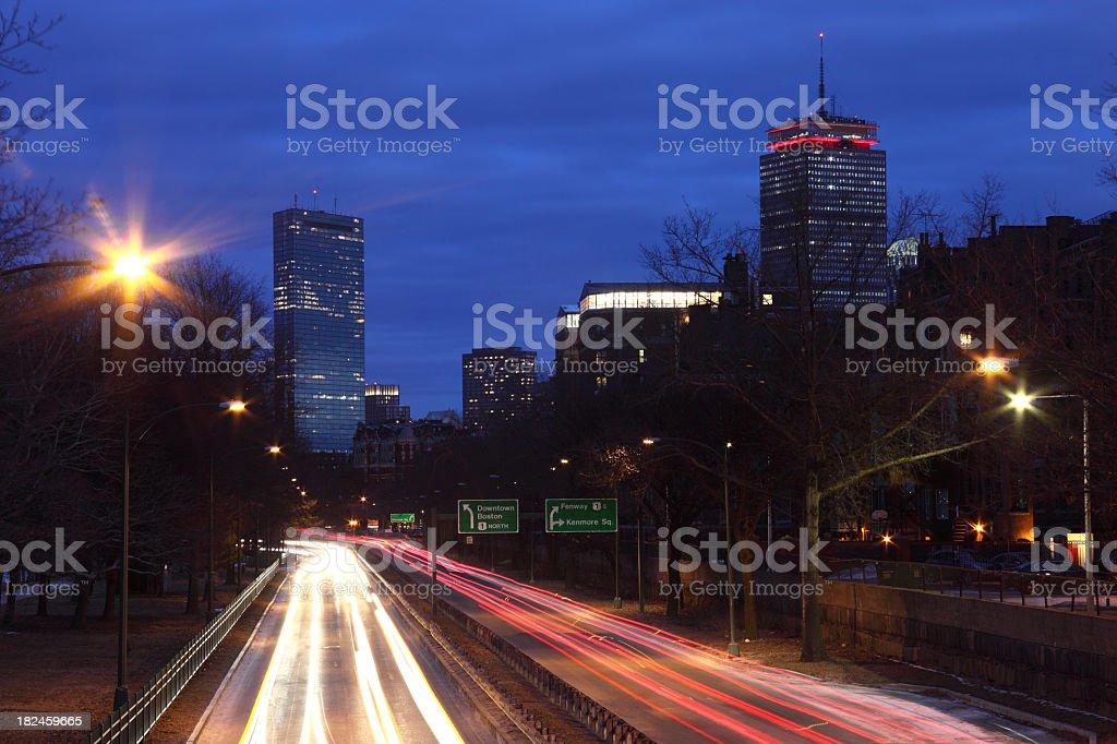 Boston foto de stock libre de derechos