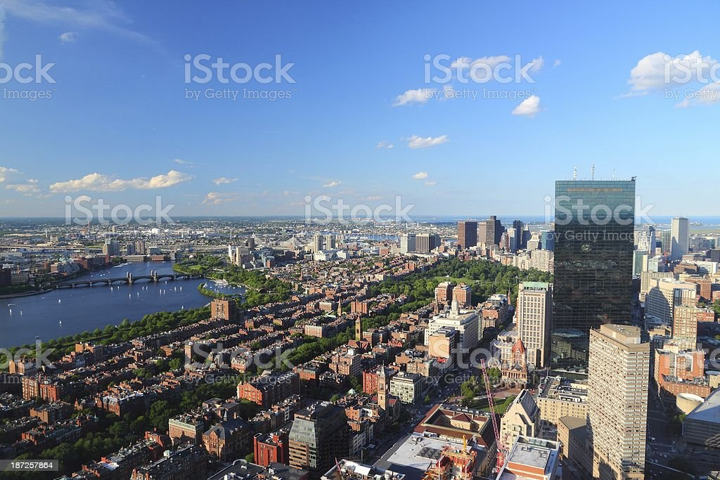 Boston stock photo