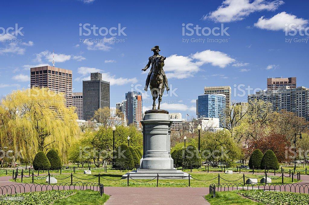 Jardim Público de Boston - foto de acervo