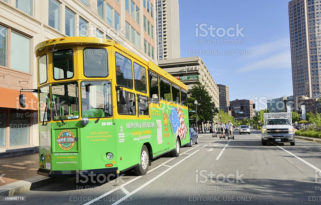 Boston Sightseeing royalty-free stock photo