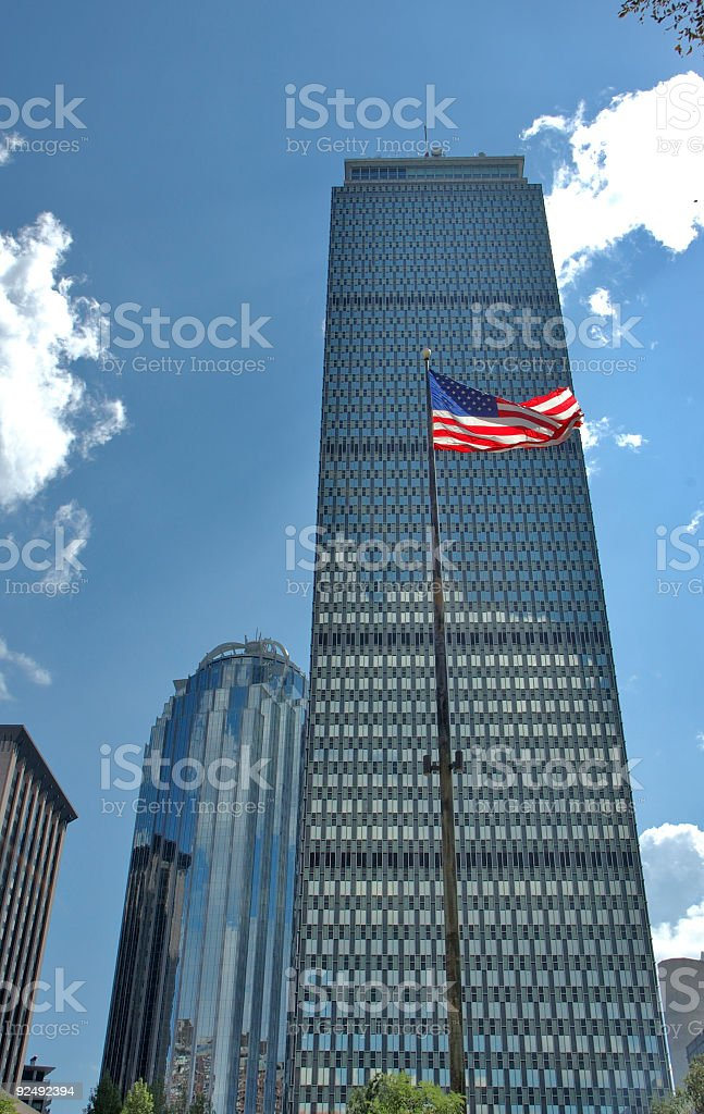 Boston skyline 6 royalty-free stock photo