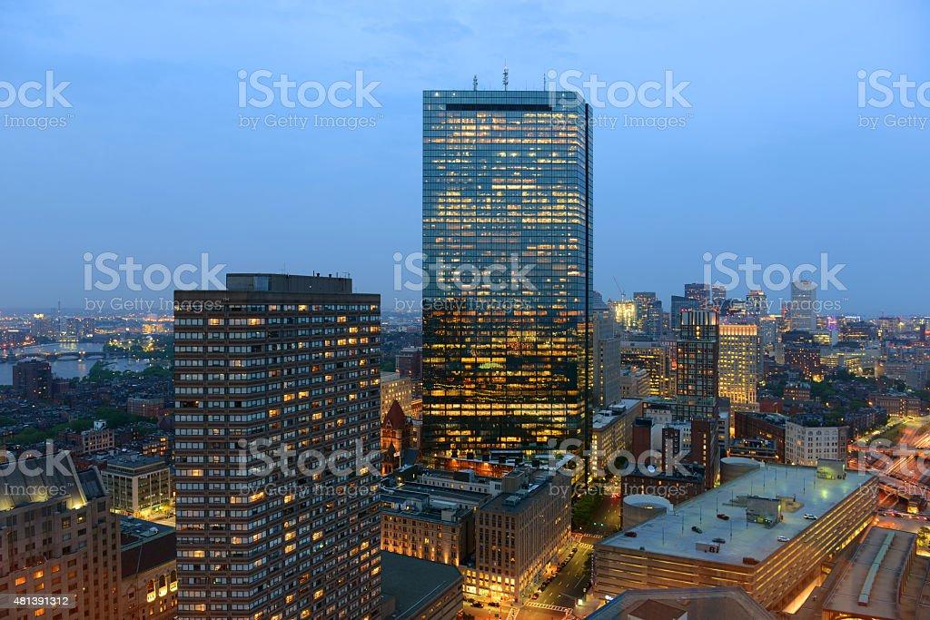 Boston Skyline, Massachusetts, USA stock photo