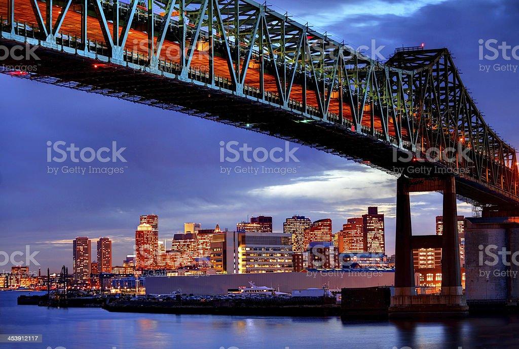 Boston Skyline stock photo