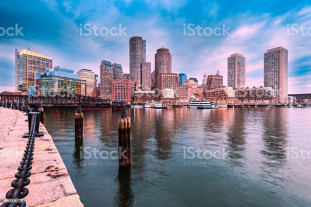 Cidade de Boston  - foto de acervo