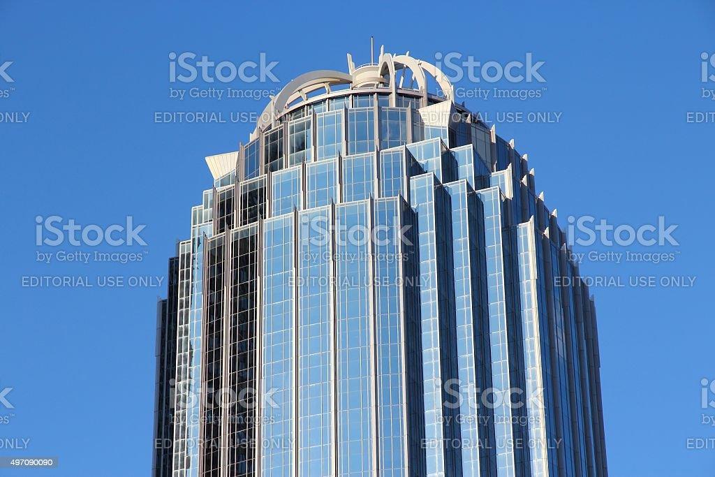 Boston skyscraper stock photo