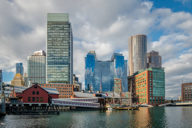 Boston tea party museum and city skyline massachusetts usa picture id641804502?b=1&k=6&m=641804502&s=612x612&w=0&h=ftqxpywh6pavmt pmue0hor k jywdi97756bvvnzju=