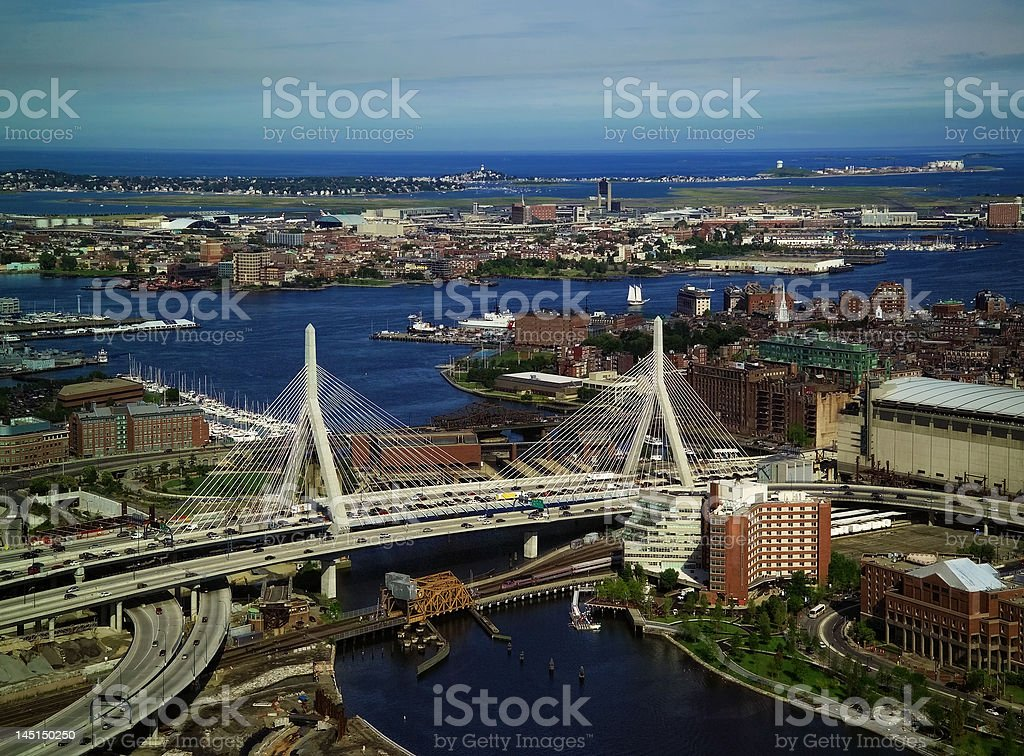 Boston Transportation stock photo