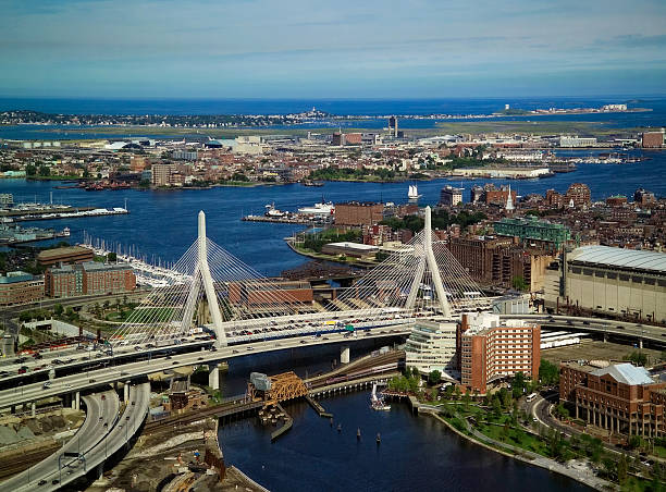 Boston Transportation stock photo
